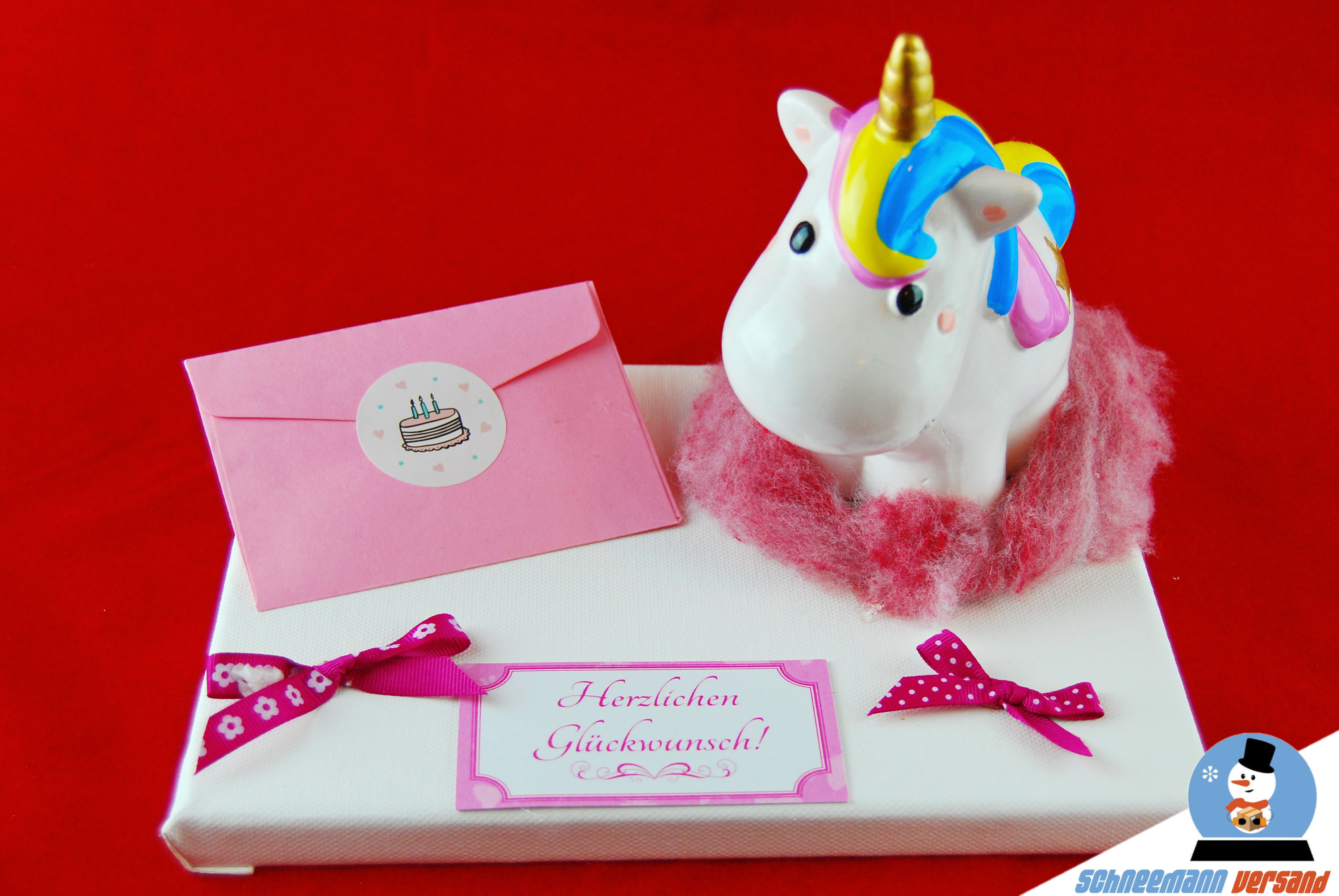 Geld Geschenk Einhorn Kinder Geburtstag Taufe Geburt Feier Madchen Spardose Cool