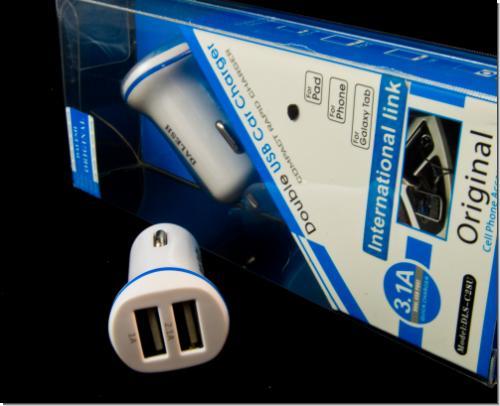 schneemann versand auto kfz 2 port usb ladeger t adapter. Black Bedroom Furniture Sets. Home Design Ideas